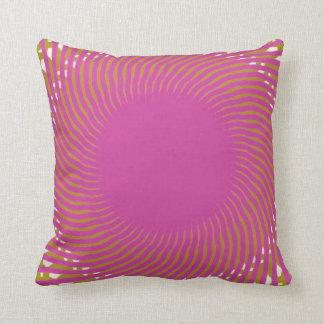 """Diseño geométrico 16"""" de la almohada de tiro del"""
