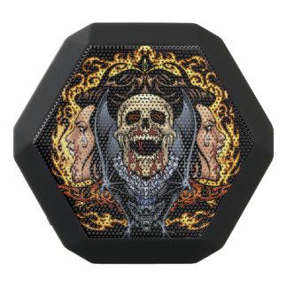 Diseño gótico de los cráneos, de los vampiros y de altavoz con bluetooth