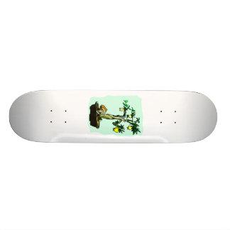 Diseño gráfico de la imagen de los bonsais de la f patinetas personalizadas