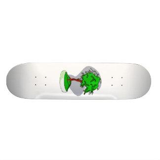 Diseño gráfico de la imagen de los bonsais jovenes tabla de skate