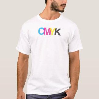 Diseño gráfico del ilustrador de CMYK Camiseta