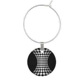 Diseño gris del extracto de los puntos identificador de copa