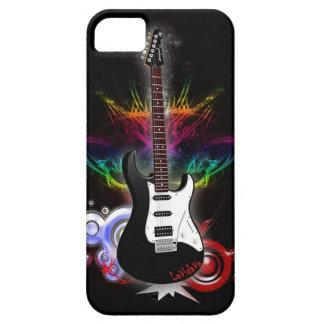 Diseño guitarra electrica iPhone 5 carcasa