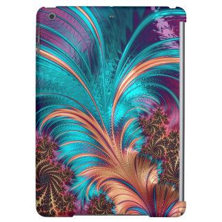 Diseño hermoso de la pluma del fractal