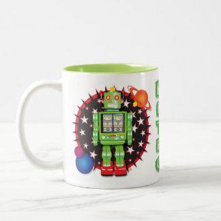 Diseño icónico de la taza del robot
