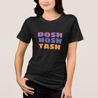 diseño inglés de la camisa del tash del nosh del