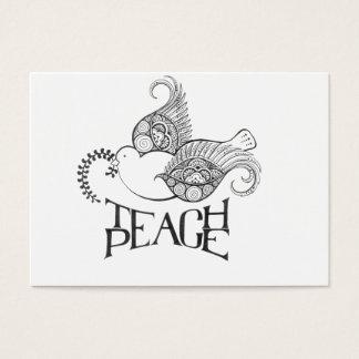 Diseño inspirado alheña tarjeta de negocios