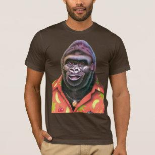 Diseño inútil gigante del gorila de la camiseta 71152c3112843