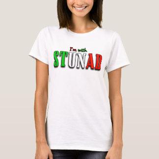 Diseño italiano divertido para el fondo ligero camiseta