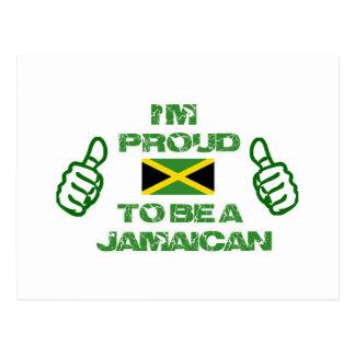 DISEÑO JAMAICANO POSTAL