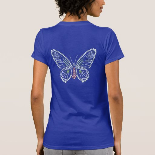 Diseño Jeweled de la piedra preciosa de la Camisetas