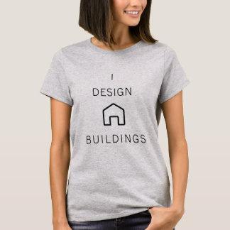 Diseño la camiseta de los edificios