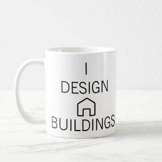 Diseño la taza de los edificios