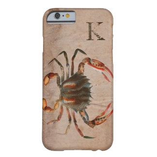 Diseño lamentable del cangrejo de Bue Funda Barely There iPhone 6