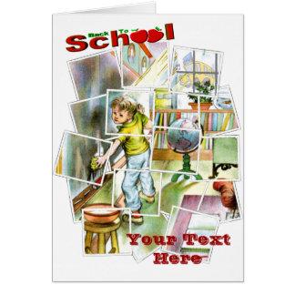 Diseño lindo del ayudante de los maestros tarjetas