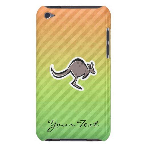 Diseño lindo del canguro Case-Mate iPod touch cárcasa