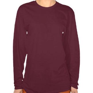 Diseño liso del monograma de la raza del collie camiseta