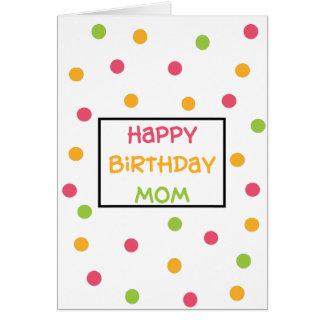 Diseño manchado de las tarjetas de felicitación