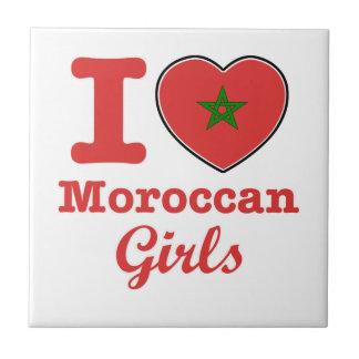 Diseño marroquí azulejo cuadrado pequeño