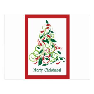 Postales rbol de navidad moderno tarjetas postales - Arbol navidad moderno ...