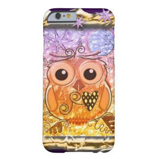 Diseño moderno fresco del búho funda de iPhone 6 barely there