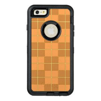 Diseño natural del vector de las tejas de los funda OtterBox defender para iPhone 6 plus
