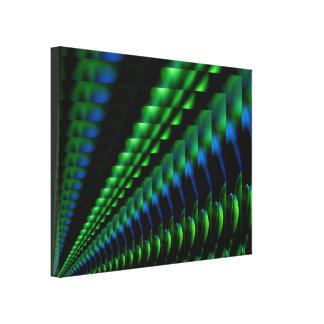 Diseño negro azulverde abstracto