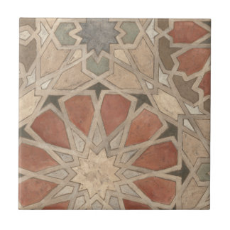 Diseño No-Embellecido I de Marrakesh Azulejo Cuadrado Pequeño