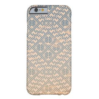 Diseño nórdico en colores pastel tradicional funda barely there iPhone 6