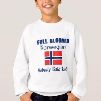 Diseño noruego del ciudadano sudadera