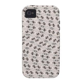 Diseño ondulado Case-Mate iPhone 4 carcasas