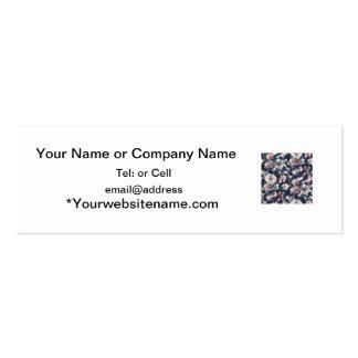 diseño oriental de la alfombra de la flor tipo tarjeta de negocio