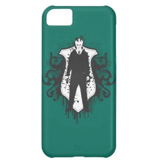Diseño oscuro de los artes de Malfoy del Draco Funda Para iPhone 5C