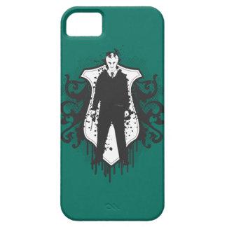 Diseño oscuro de los artes de Malfoy del Draco iPhone 5 Cárcasas