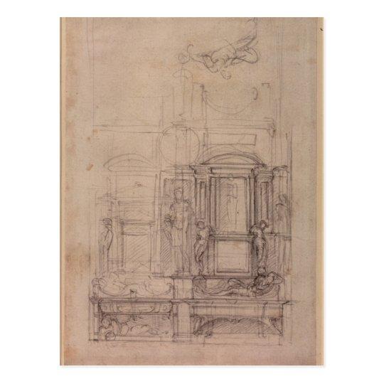 Diseño para la capilla de Medici Postal