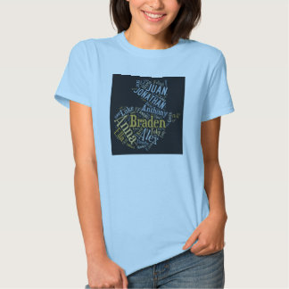 Diseño para mujer 4 camiseta