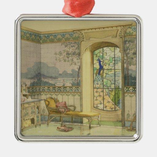 """Diseño para un cuarto de baño, de """"Interieurs Mode Ornamentos De Navidad"""