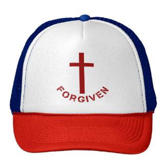 Diseño perdonado cristiano de la Cruz Roja y del Gorro