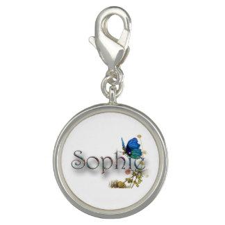"""Diseño personalizado de """"Sophie"""" Dije Con Foto"""