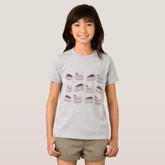 Diseño pintado lindo de la camisa del modelo de la