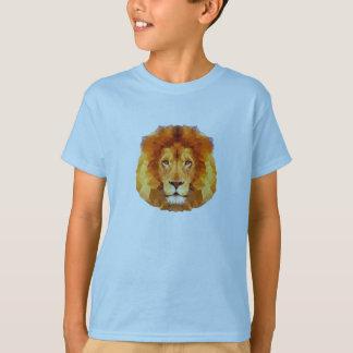 Diseño polivinílico bajo. Ejemplo del león Camiseta