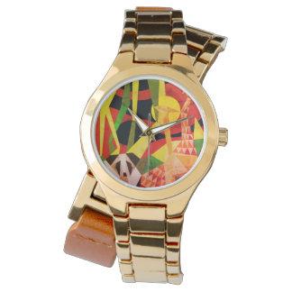 Diseño popular de la NUEVA alegría de la selva de Reloj