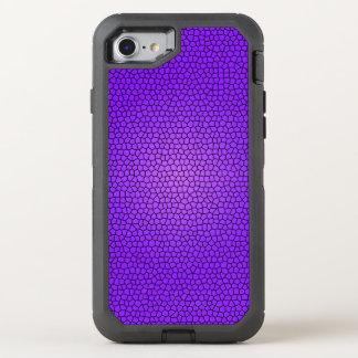 Diseño púrpura de la impresión de la sirena funda OtterBox defender para iPhone 7