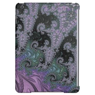 Diseño púrpura del caso del iPad del vagabundo