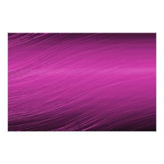 Diseño púrpura impresiones fotográficas