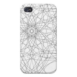 diseño rayado iPhone 4 carcasas