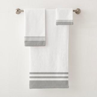 Diseño rayado gris neutral