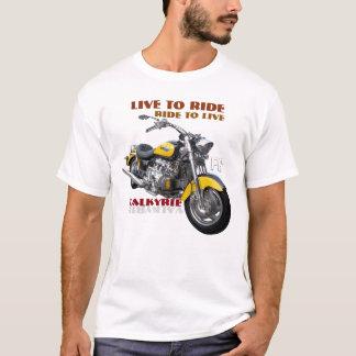 Diseño regular de la motocicleta de Valkyrie Camiseta