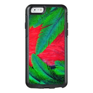 Diseño resplandeciente de la pluma del quetzal funda otterbox para iPhone 6/6s
