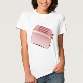 Diseño retro de la tostadora del vintage - rojo camisetas